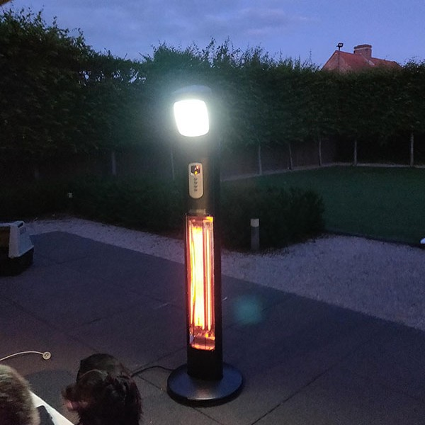Apollo Outdoor Pedestal Heater